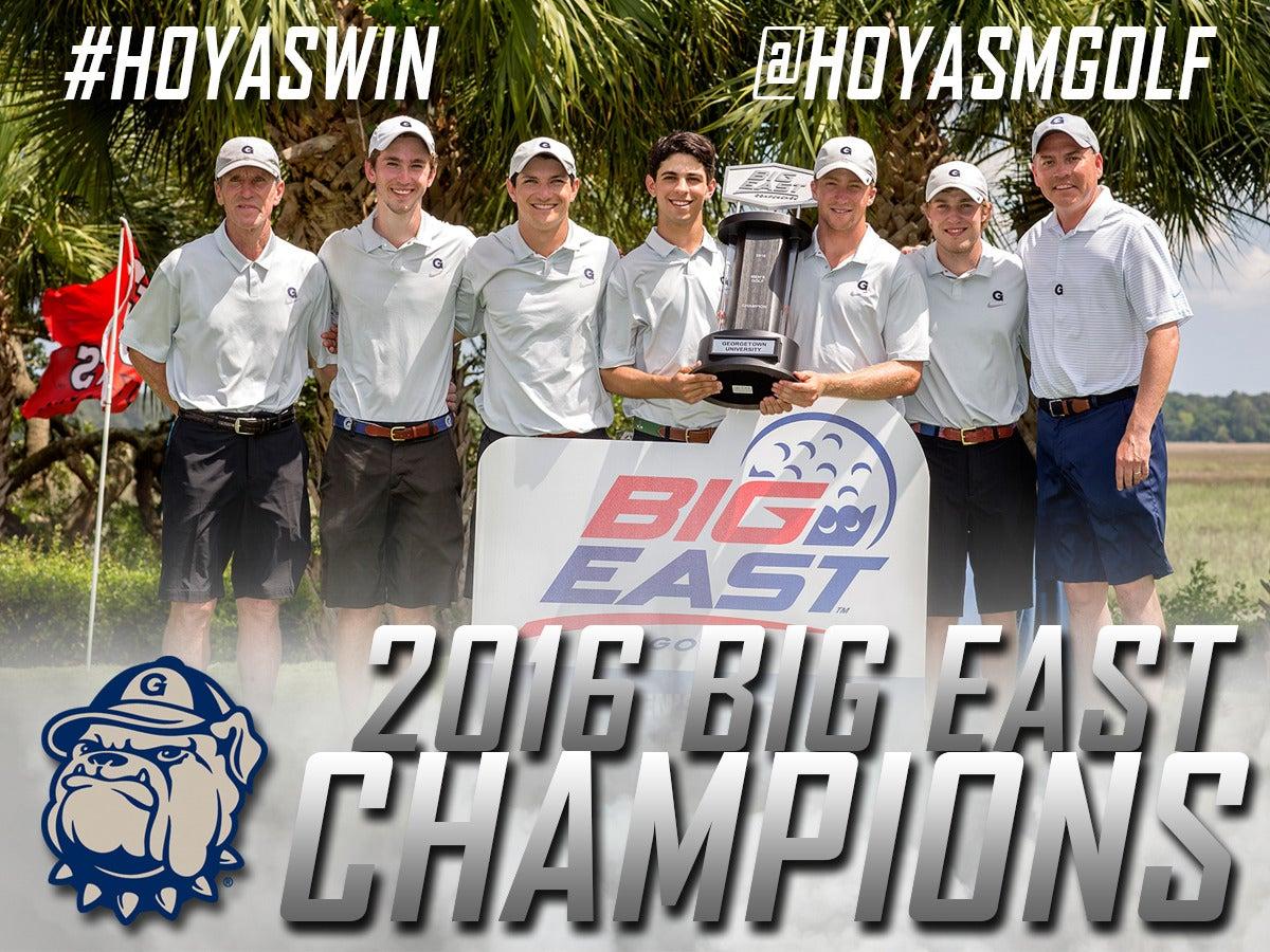 2016 Men's Golf Big East Champions