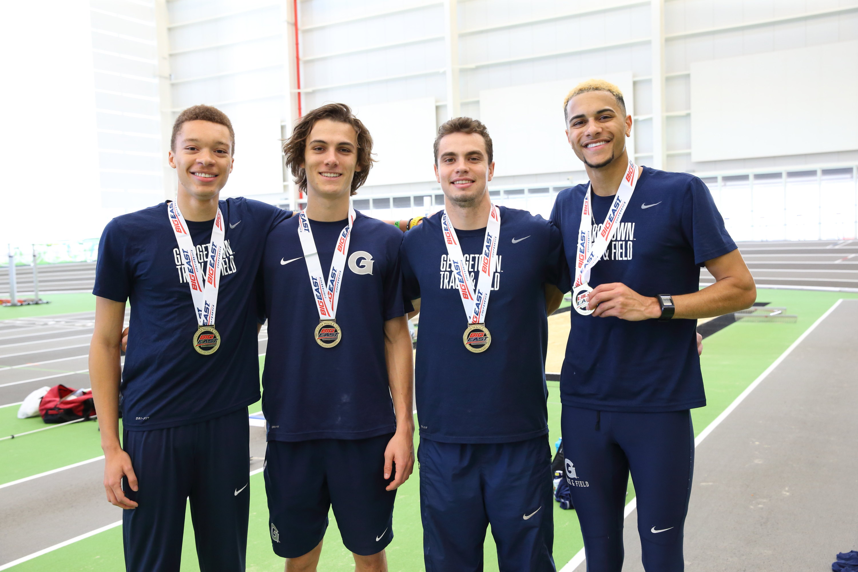 2017 Men's Track BIG EAST 4x400 Champions