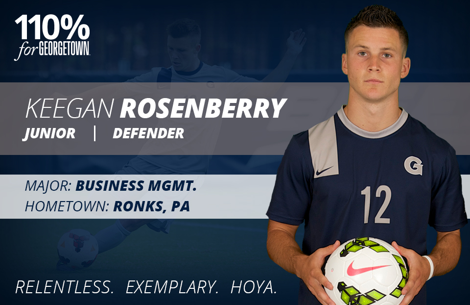 Keegan Rosenberry-M Soc FB
