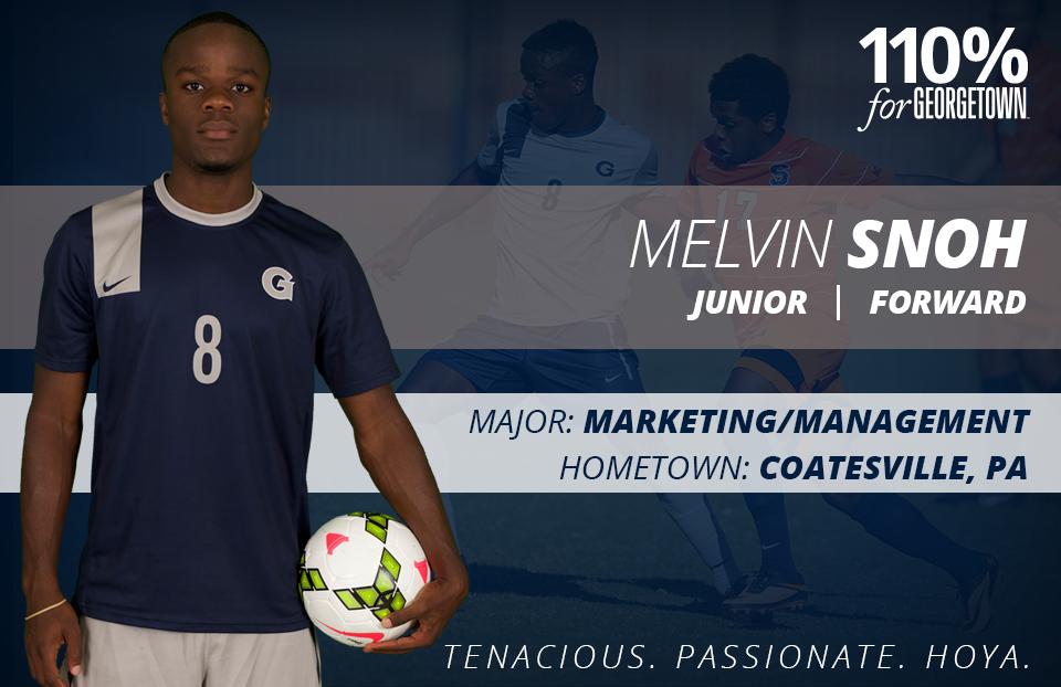 Melvin Snoh Men's Soccer