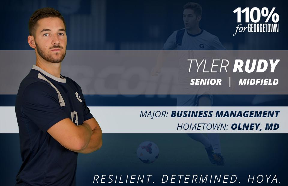 Tyler Rudy - Men's Soccer