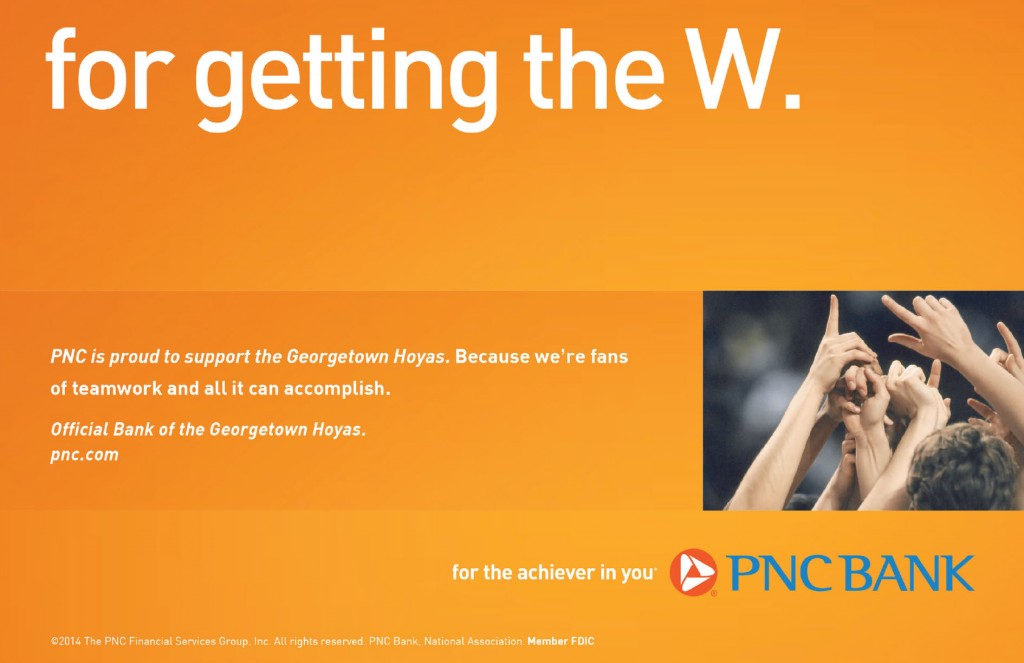digital ticking guide PNC Ad
