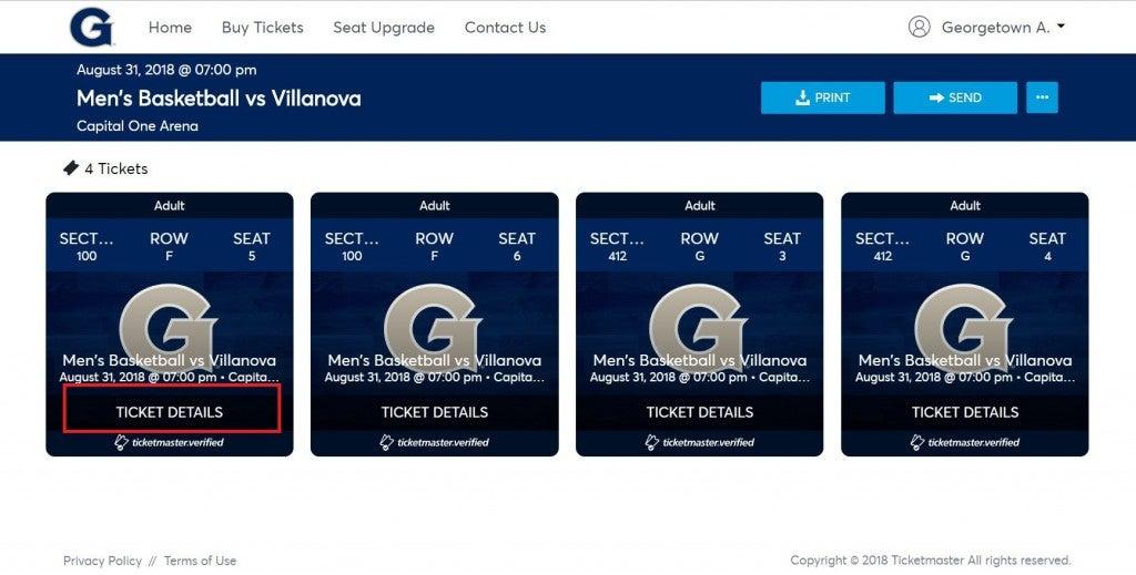 ticket details square
