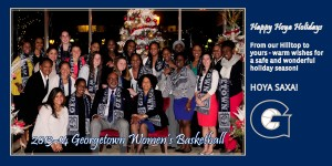 Women's Basketball Holiday Card